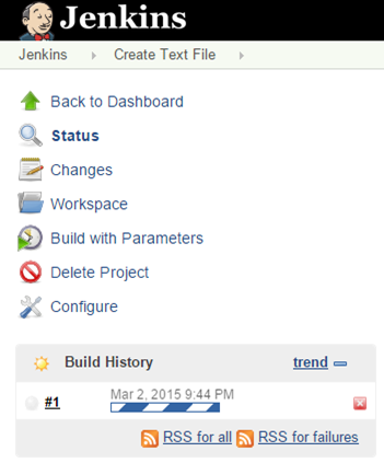 Jenkins Build Starting