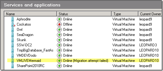 How To Fix Hyper-V Migration Attempt Failed
