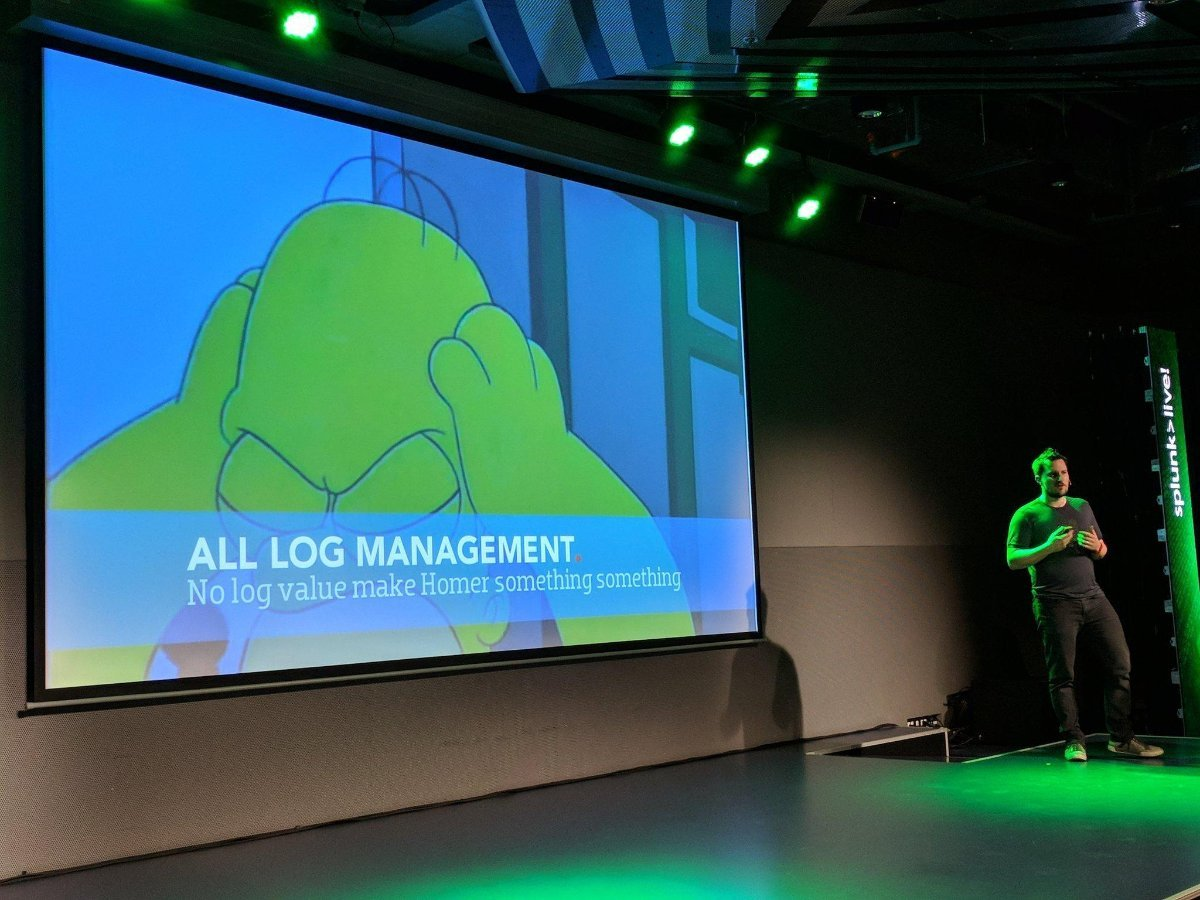 SplunkLive! All Log Management