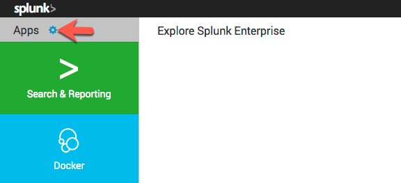 Manage Splunk Apps